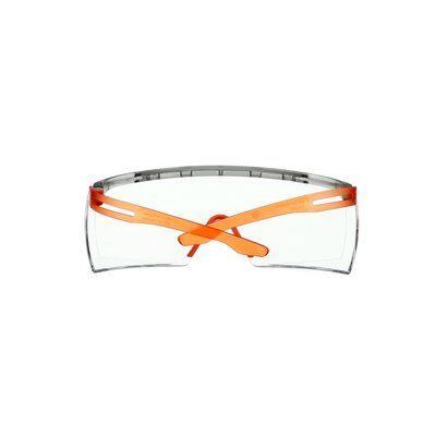 3M™ SecureFit™ 3700 Überbrille, oranges Gestell, Scotchgard™ Antibeschlag-/Antikratz- Beschichtung (K&N), klare Scheibe, SF3701SGAF-ORG