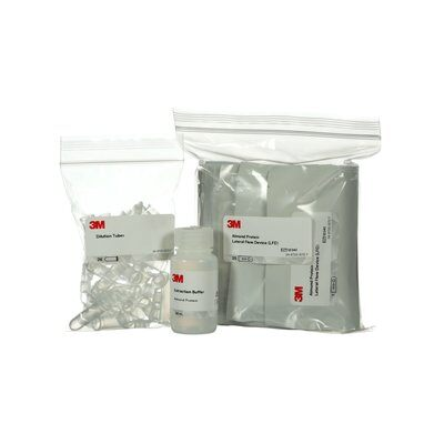 3M™ Walnuss-Protein-Schnelltestkit, 25 Tests pro Kit, L25WAL