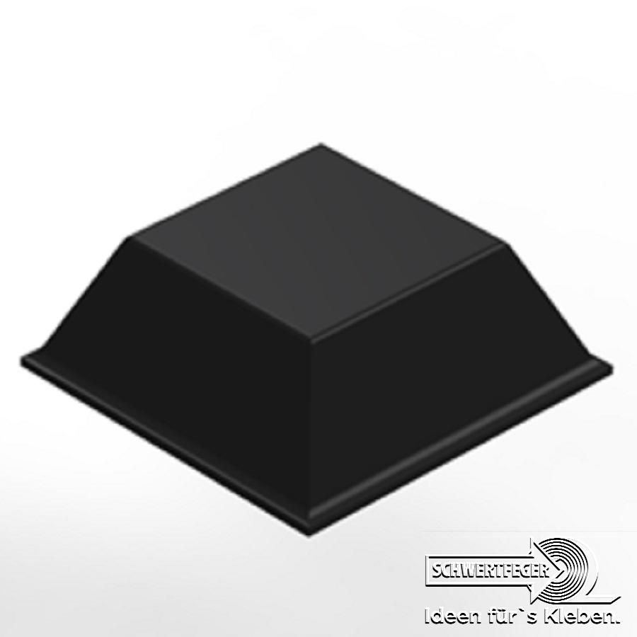 3M SJ 5023 Elastikpuffer schwarz Breite 20,6 mm Dicke 7,6 mm