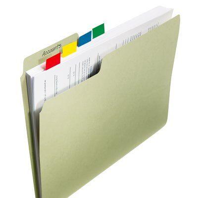 Post-it® Index Standard 50 Haftstreifen im Spender, gelb, 25.4 mm x 43.2mm