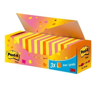 Post-it® Notes Neon Value Pack