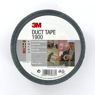 3M™ Gewebeklebeband 1900, 50 mm x 50 m