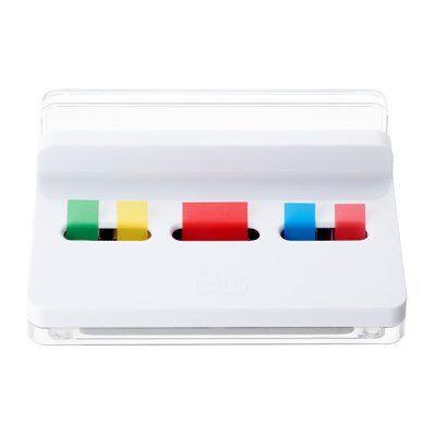 Post-it® Index 2 Pack an 50 Haftstreifen Standard + Post-it® Index Mini 1 Pack an 35 Hafstreifen + 1 Slim Standard Dispenser GRATIS