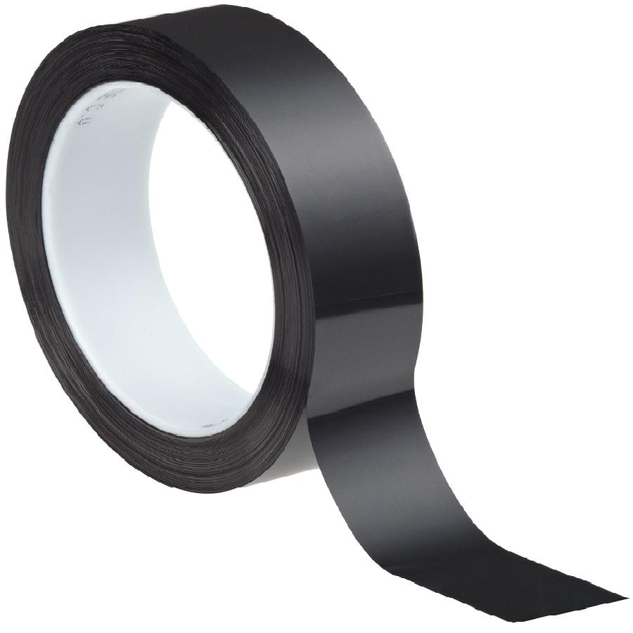 3M 850/850F Polyester-Klebeband schwarz 25 mm x 66 m