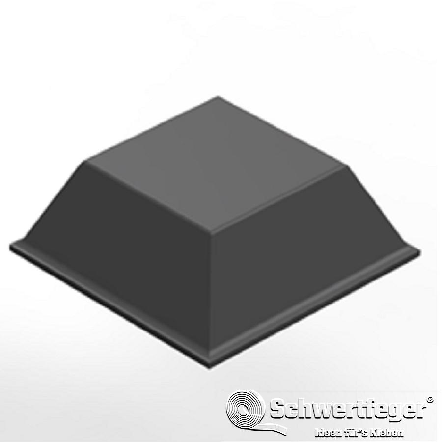 3M SJ 5008 Elastikpuffer grau Breite 12,7 mm Dicke 3,1 mm