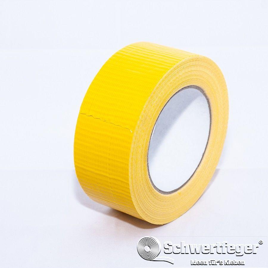Gewebeklebeband SPADA 518 Gaffa Tape/ Panzerband gelb 48 mm x 50 m