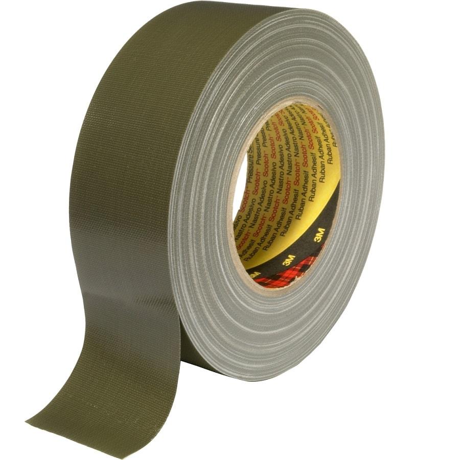 3M 389 Gewebeklebeband oliv grün 50 mm x 50 m