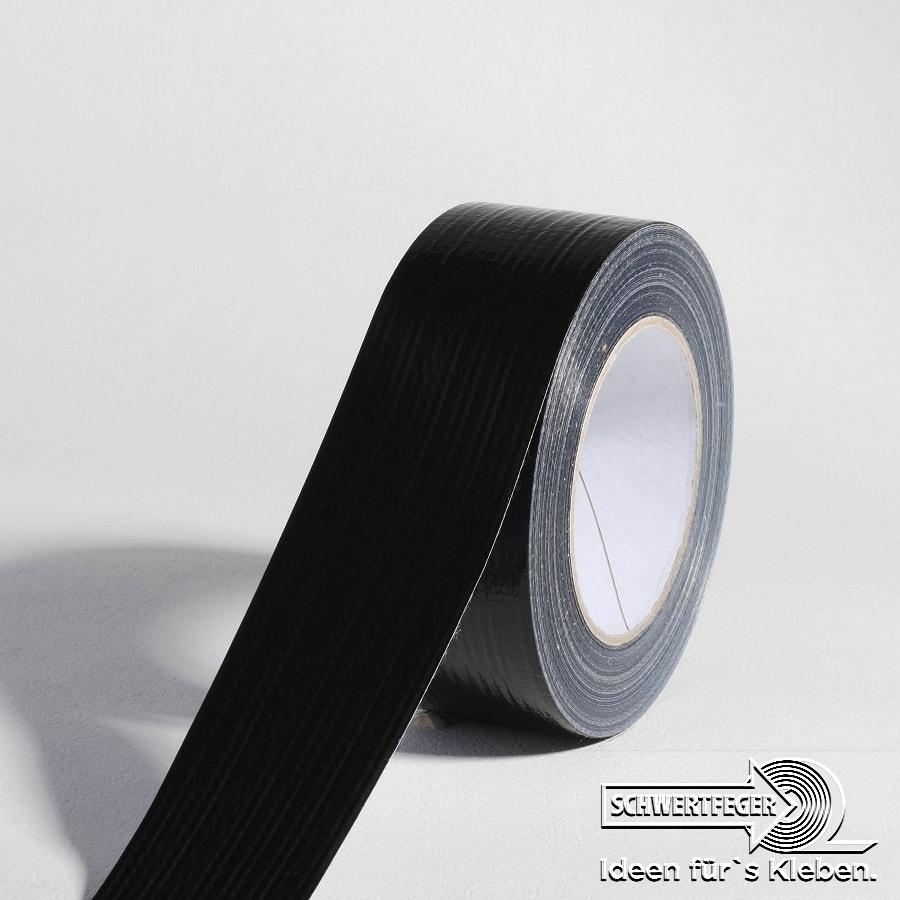 SPADA® NU 60 Gewebeklebeband schwarz 50 mm x 50 m