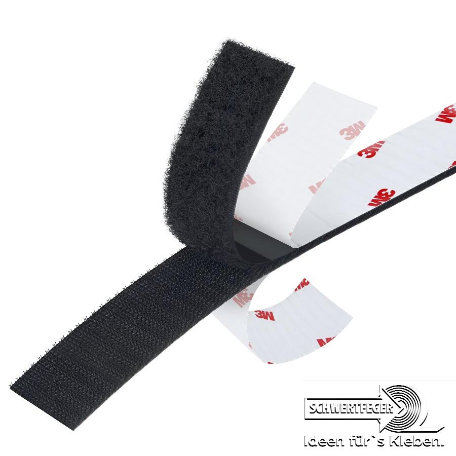 3M SJ-3526 N Hakenband schwarz 15,9 mm x 45,7 m lang