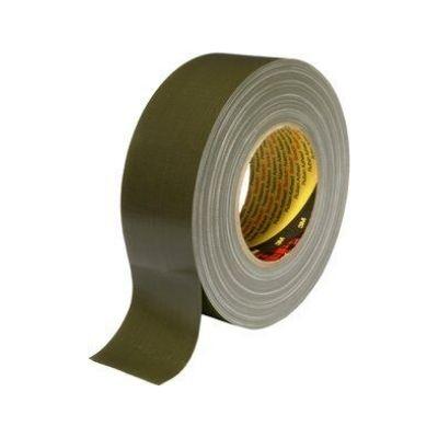 3M™ Gewebeklebeband 389, olive, 50 mm x 50 m