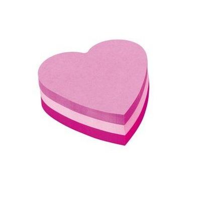 Post-it® Würfel 2007h, 70 x 70 mm, pink, rosa, violett, 1 Würfel à 225 Blatt