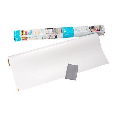 Post-it® Super Sticky Dry Erase Film DEF3x2-EU, 60.9 cm x 91.4 cm