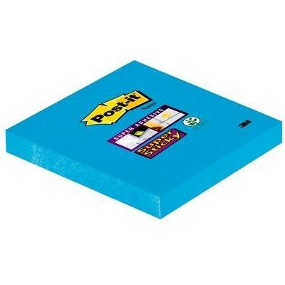 Post-it® Super Sticky Notes 6546SEB, 76 x 76 mm, ultrablau, 1 Block à 90 Blatt