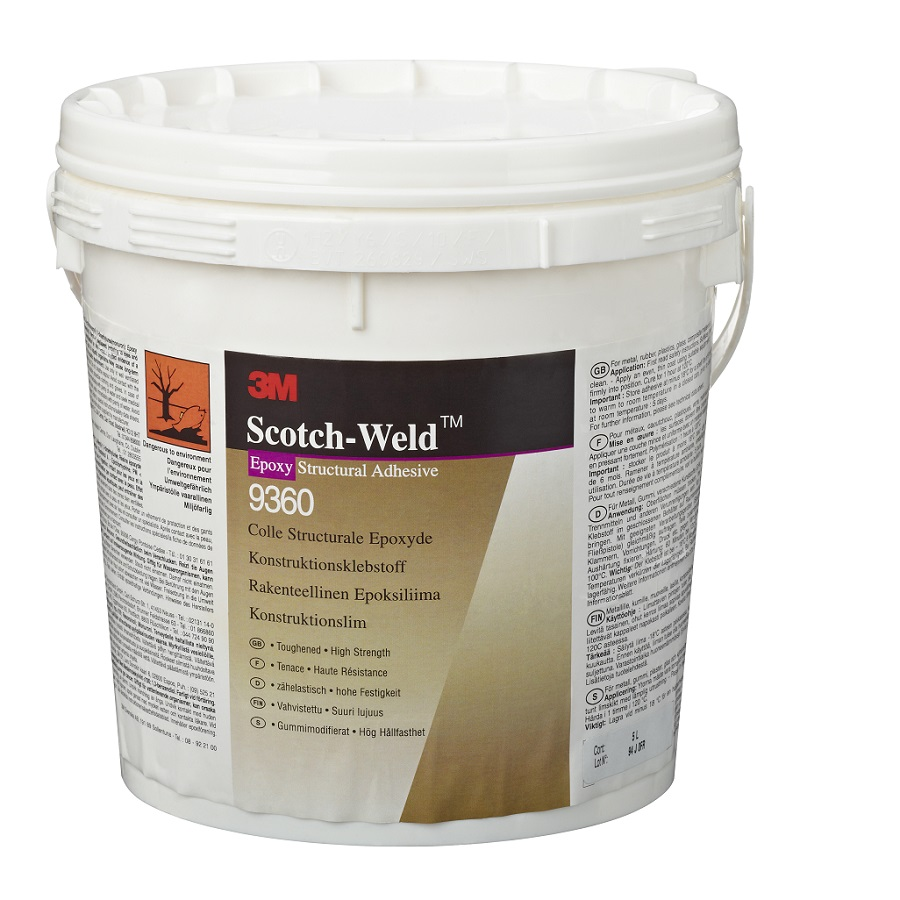 3M SW 9360 1-K-Klebstoff-Epoxidharzbasis gelb 5 Liter