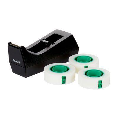 Scotch® Abroller,schwarz + Scotch® Magic™ Klebeb. A Greener Choice, 19 mm x 33 m