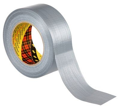 3M™ Formflexibles Universal-Gewebeklebeband 2904, 48mm x 50m, Silber