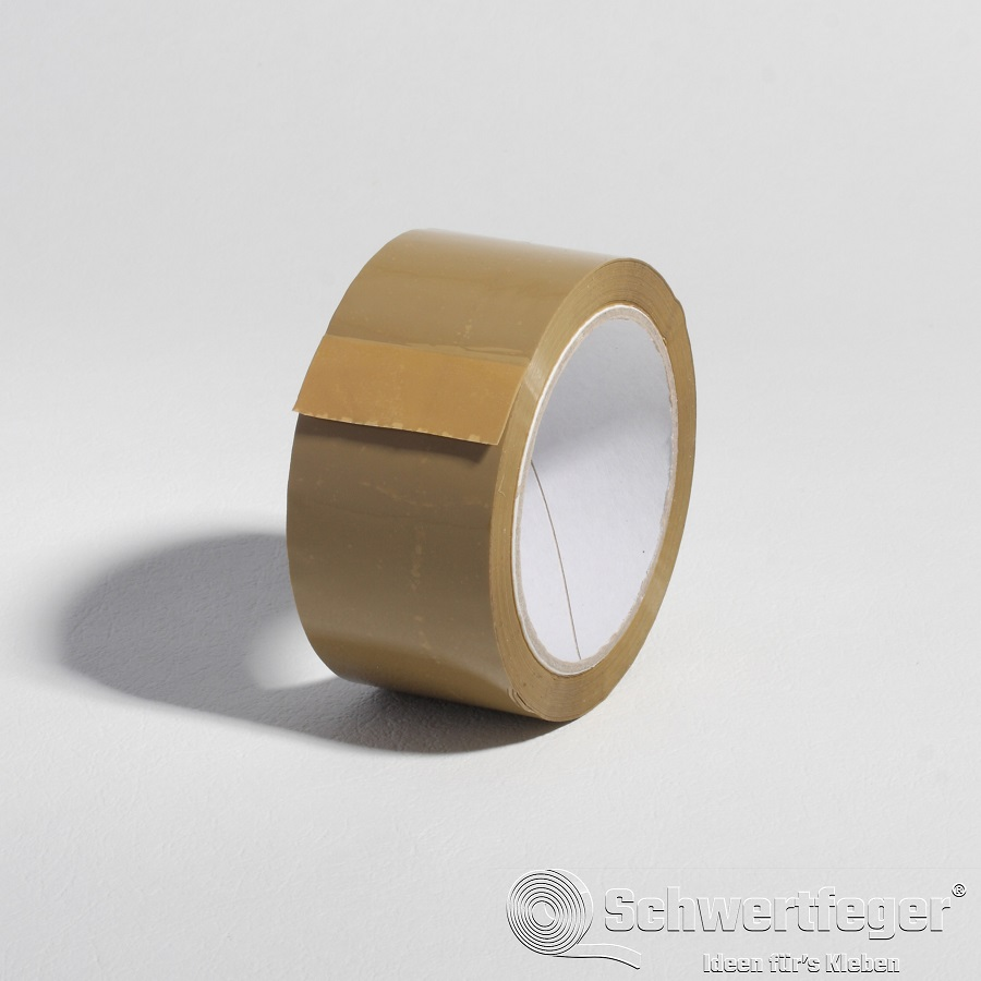 PP Packband SPADA® HM braun Hotmeltkleber  50 mm x 66 m