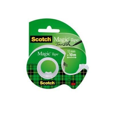 Scotch® Magic™ Klebeband 1 Rolle 12 mm x 10 m + 1 Handabroller