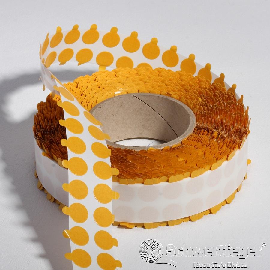 Formstanzteile aus SPADA® 631 doppelseitig klebend Durchmesser 15 mm 5.000 Stück