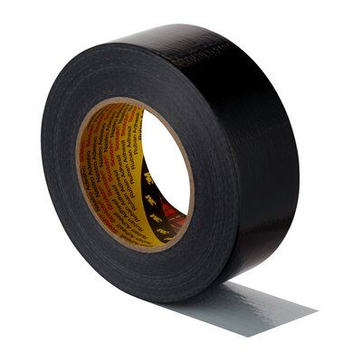 3M™ Formflexibles Universal-Gewebeklebeband 2904, 48mm x 50m, Schwarz