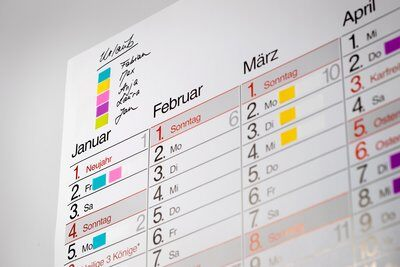 Post-it® Index Mini  683-4+2, 11,9 x 43,2 mm, blau, gelb, grün, rot, 24 x 35 Haftstreifen