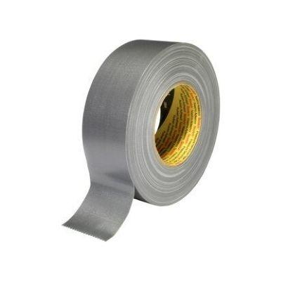 3M™ Gewebeklebeband 389, silber, 75 mm x 50 m