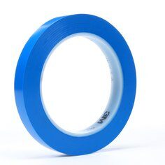 3M™ 471 Hochwertiges Weich-PVC-Klebeband, 9 mm x 33 m, Blau