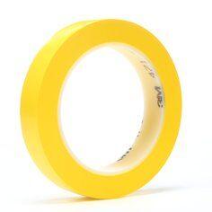 3M™ 471 Hochwertiges Weich-PVC-Klebeband, 12 mm x 33 m, Gelb