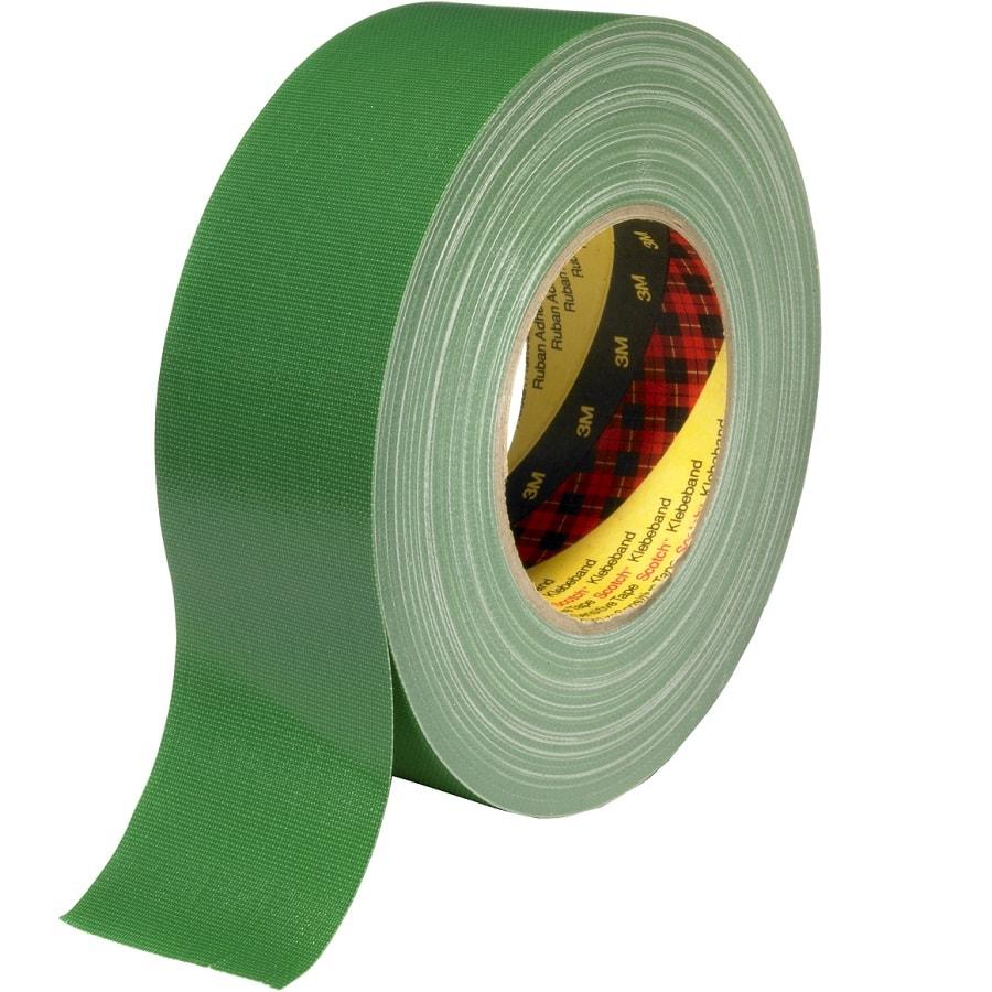 3M 389 Gewebeklebeband grün 25 mm x 50 m