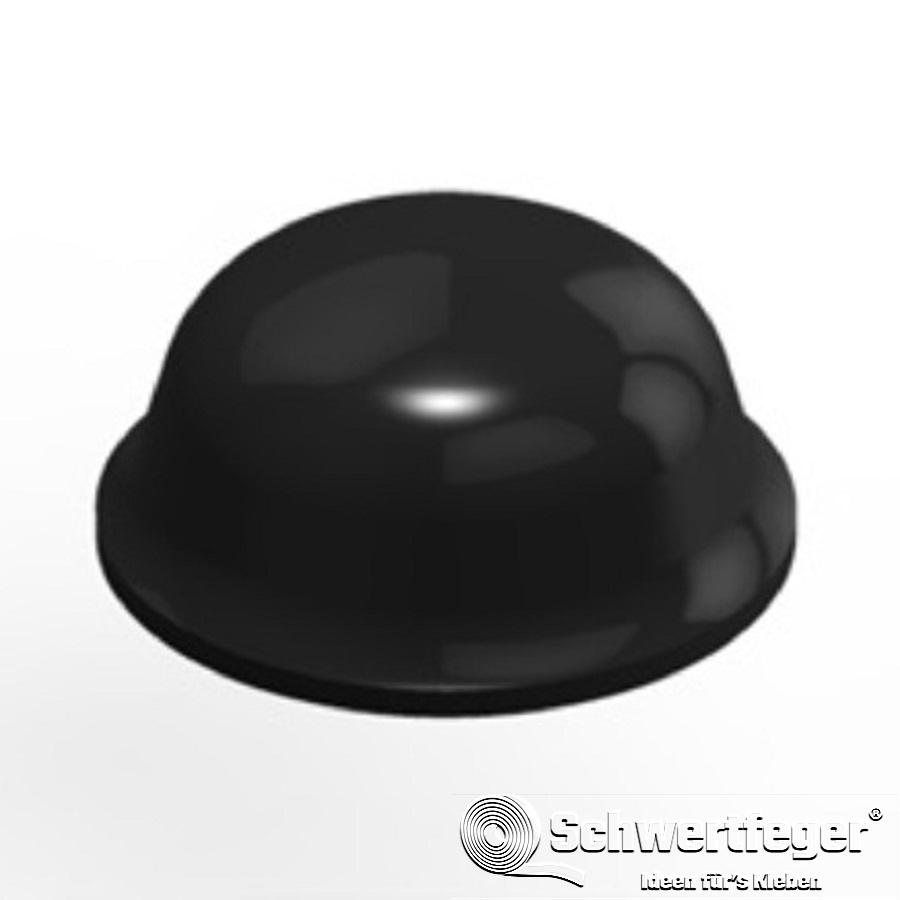 3M SJ 5003 Elastikpuffer schwarz Durchmesser 11,2 mm Dicke 5,1 mm