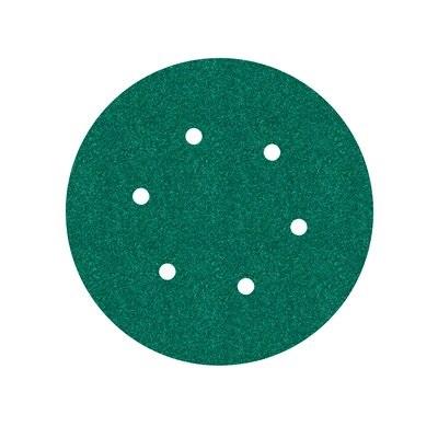 3M Hookit™ Papierschleifscheibe 245, 150 mm, P120, 6-fach gelocht