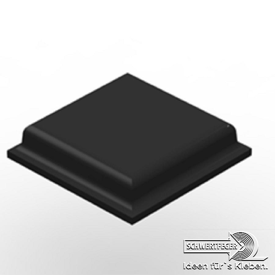 3M SJ 5007 Elastikpuffer schwarz Breite 10,5 mm Dicke 2,5 mm