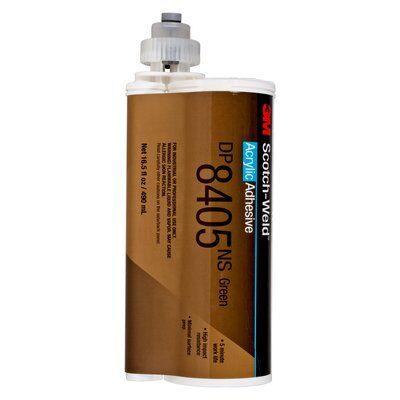3M™ Scotch-Weld™ DP-8405 NS 2K-Konstruktionsklebstoff, 490 ml grün