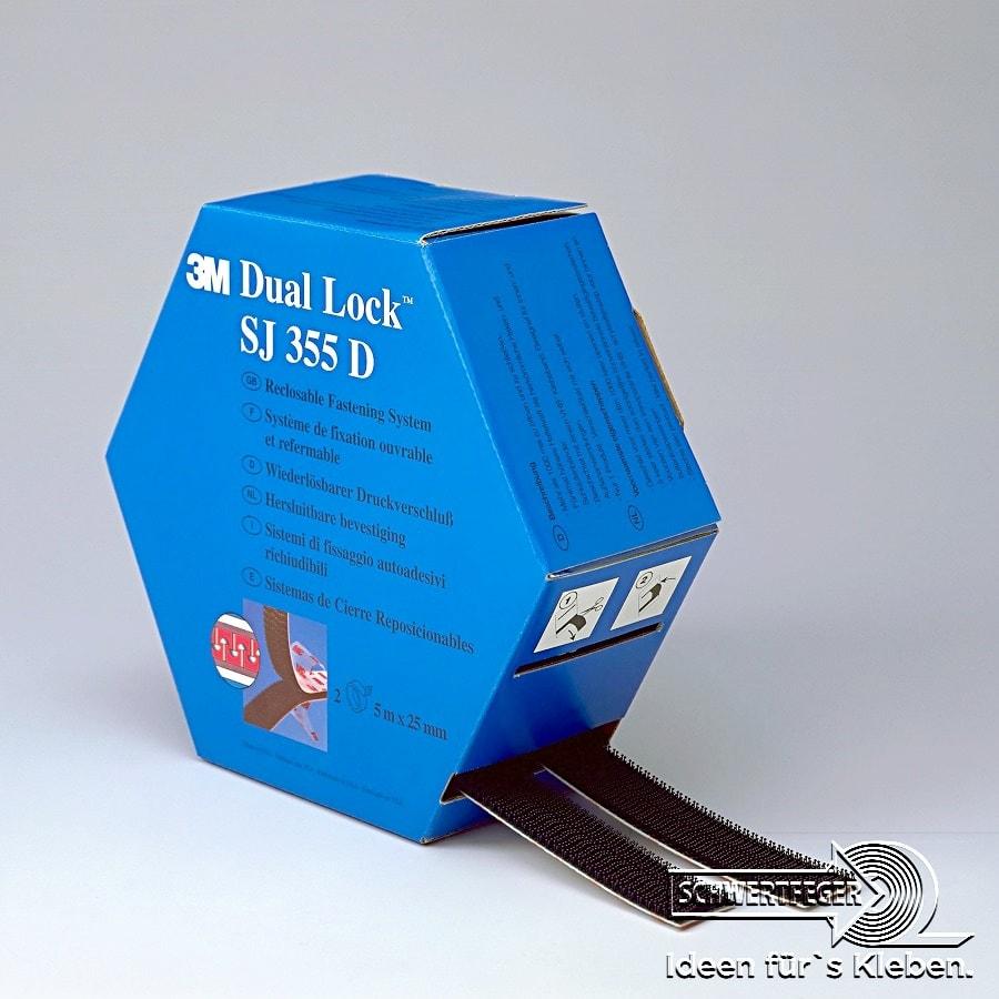 3M SJ-355D Spendebox Scotch Dual-Lock 3550 x 5 m (8 Rollen/4 Boxen)