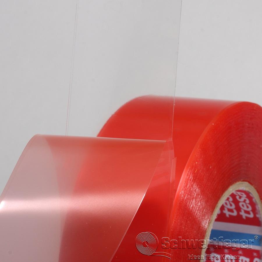 Tesa 4965 doppelseitiges Klebeband transparent 50 mm x 50 m