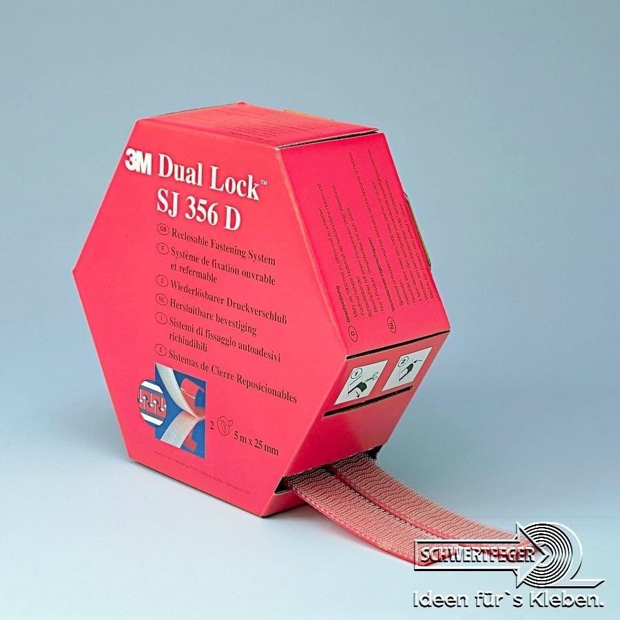 3M SJ-356D Spendebox Scotch Dual-Lock 3560 (8 Rollen/4 Boxen)