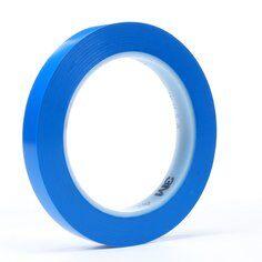 3M™ 471 Hochwertiges Weich-PVC-Klebeband, 12 mm x 33 m, Blau