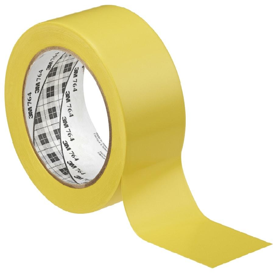 3M 764i Weich-PVC-Klebeband gelb 50 mm x 33 m