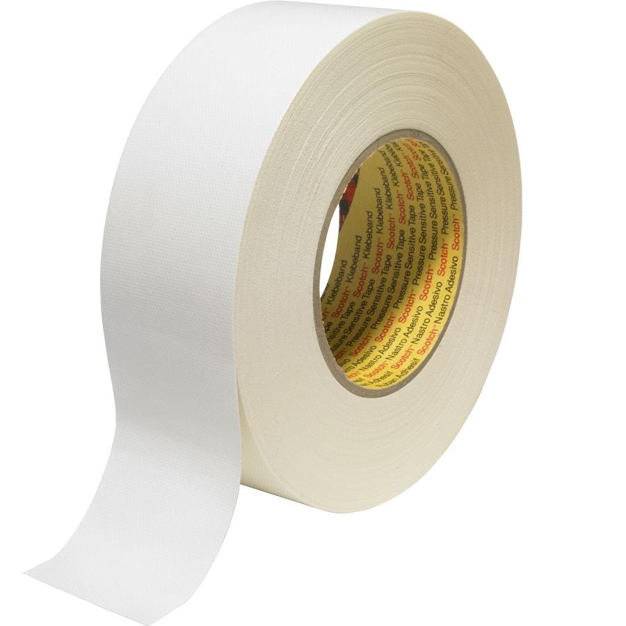3M 389 Gewebeklebeband weiss 25 mm x 50 m