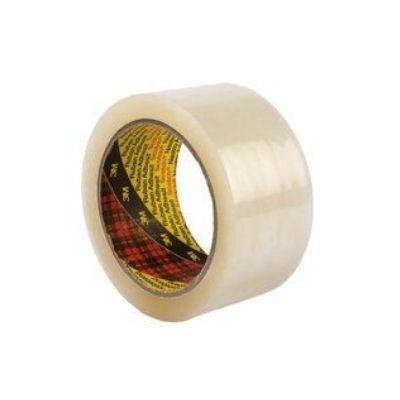 3M™ 3707 PP Verpackungsband geräuscharm, 50mm x 66m, Transparent