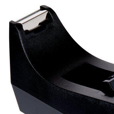 Scotch® C38 Schreibtisch Klebebandabroller Schwarz