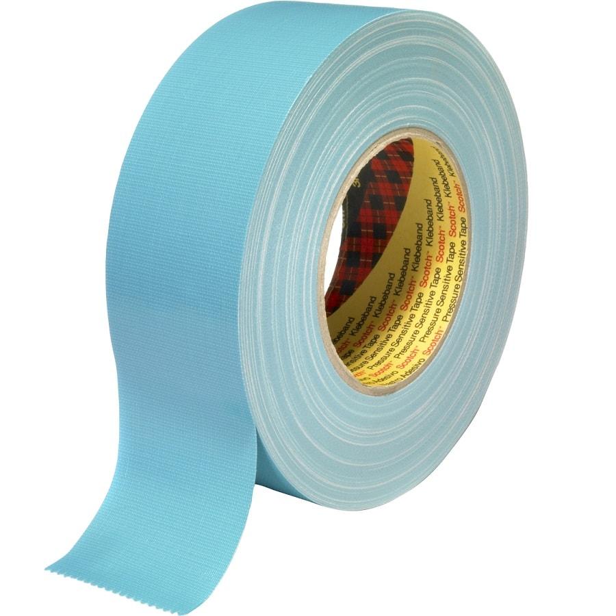 3M 389 Gewebeklebeband hellblau 50 mm x 50 m