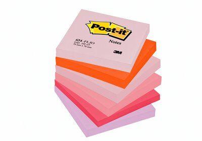 Post-it® Notes Joyful Colours 12 Pads 76 mm x 76 mm
