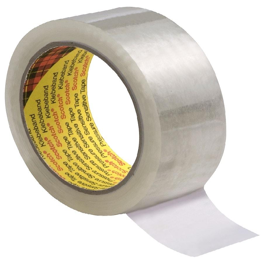 3M 309 Verpackungsklebeband transparent 50 mm x 66 m