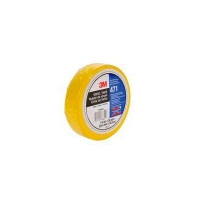 3M™ 471 Hochwertiges Weich-PVC-Klebeband, 25 mm x 33 m, Gelb