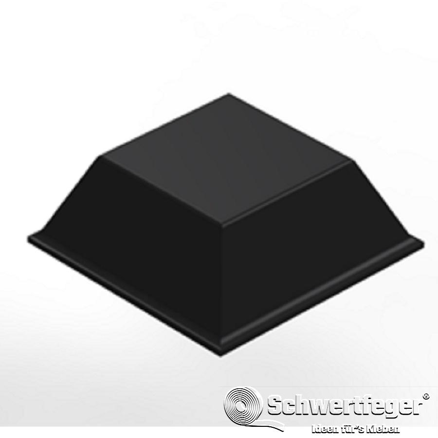 3M SJ 5018 Elastikpuffer schwarz Breite 12,7 mm Dicke 5,8 mm