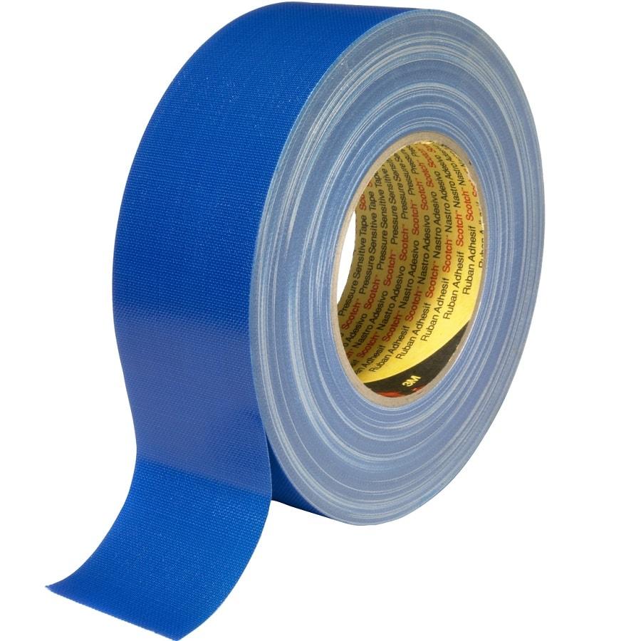 3M 389 Gewebeklebeband (dunkel) blau 50 mm x 50 m