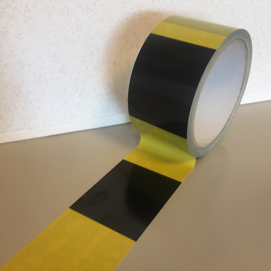 SPADA® Markierungsband extra stark selbstklebend gelb / schwarz 50 mm x 33 m