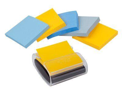 Post-it® Super Sticky Z-Notes, 6 Blöcke à 90 Blatt, New York Collection, 76mm x 76mm, PEFC CH18/0914