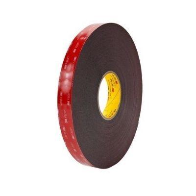 3M VHB 5952 Hochleistungs-Klebeband, 19 mm x 11 m, Schwarz, 1.1 mm